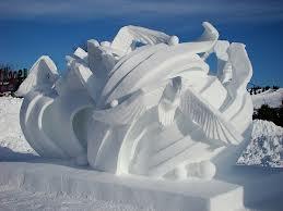 Sculpture glace